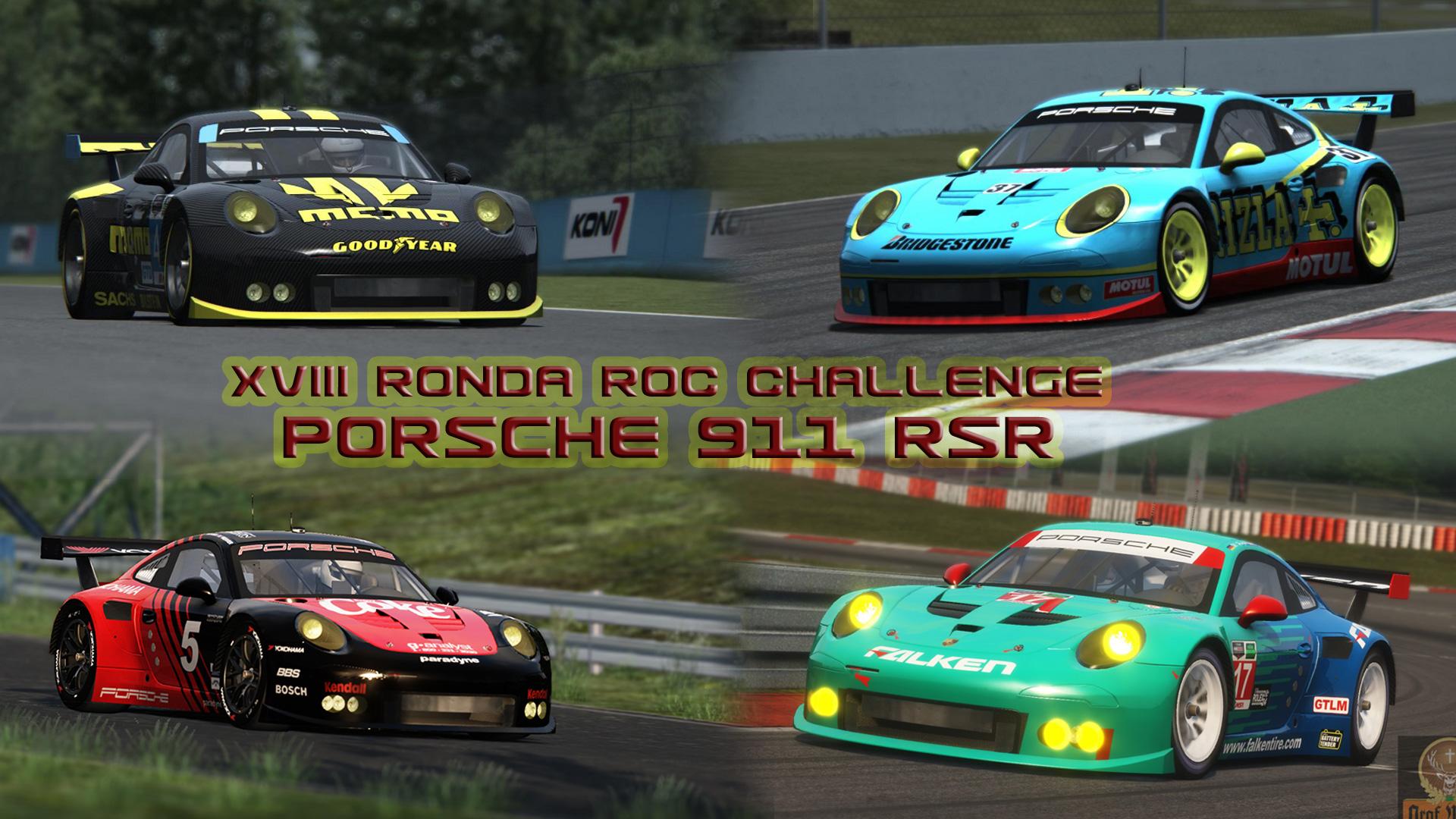 New Jersey (04/10) – Ronda XVIII ROC Challenge 911RSR