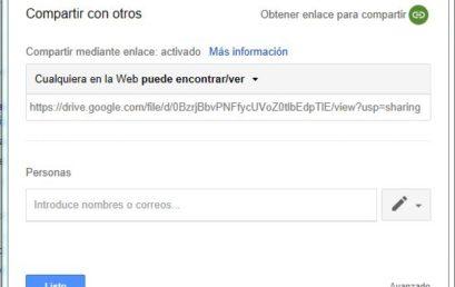 Poner Imágenes y Vídeos de nuestro Google Drive en la web