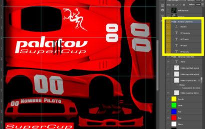Templates y Pinturas Super Copa Palatov