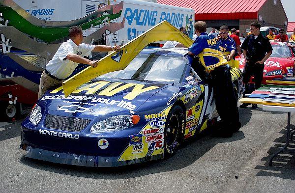 Plantilla chasis NASCAR